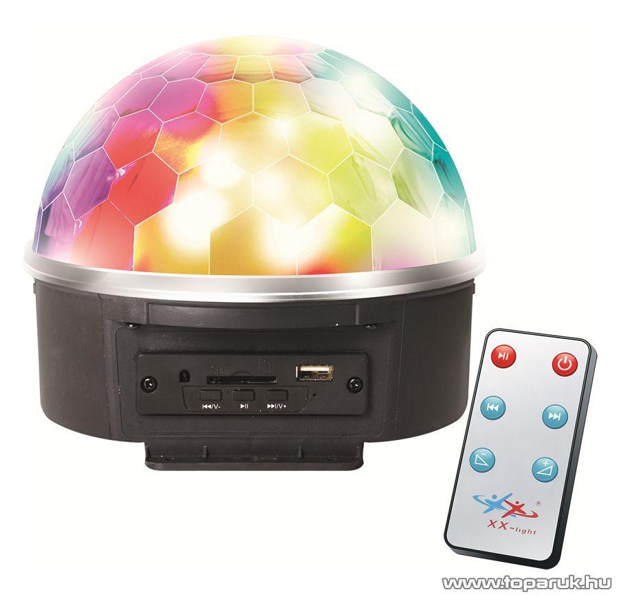 SAL DL 6L Kettő az egyben diszkólámpa és memóriakártyás MP3 / USB zenelejátszó