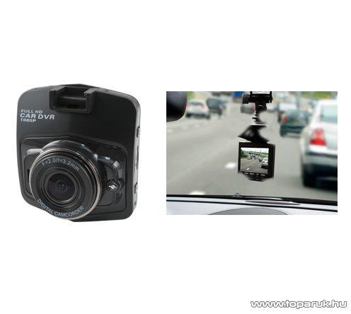"""SAL DVR FHD1/BK Autós menetrögzítő kamera, 2,5""""-os LCD kijelzővel, fekete"""