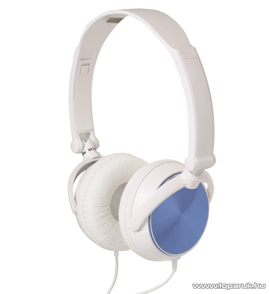 SAL HPH 5/BL BLUE Sztereó összecsukható fejhallgató, kék