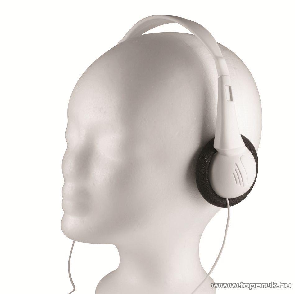 SAL HPH 38 Vezetékes sztereó fejhallgató, fehér