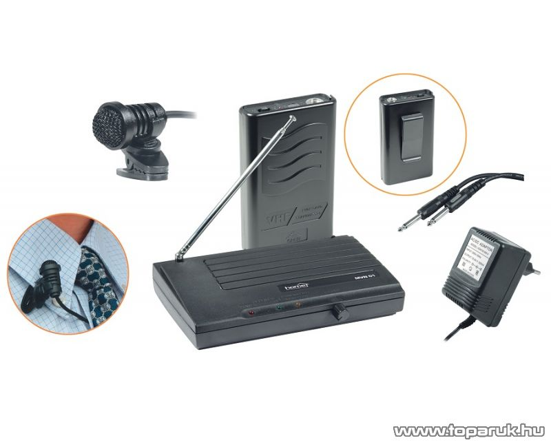 SAL MVN 100 Vezeték nélküli mikrofon szett - megszűnt termék: 2015. augusztus