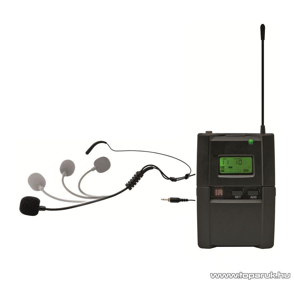 SAL MVN 901T Vezeték nélküli tarkópántos mikrofon a SAL MVN 900 mikrofon szett bővítéséhez