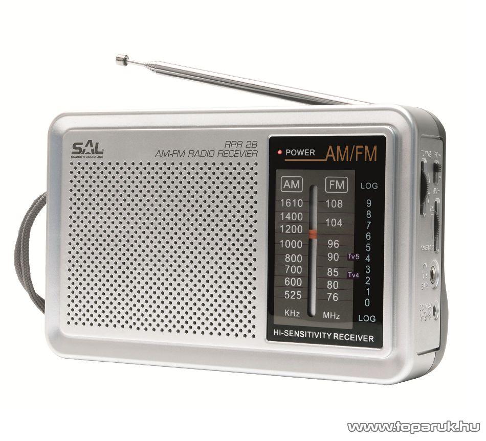 SAL RPR 2B Retro AM-FM táskarádió, Sokol rádió design
