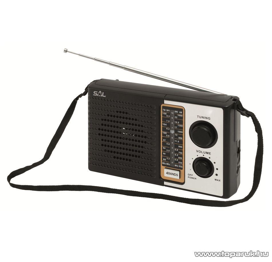 SAL RPR 4B Retro AM-FM táskarádió, Sokol rádió design