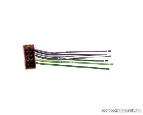 SAL SA-FISO 028 ISO hangszóró csatlakozódugó, univerzális