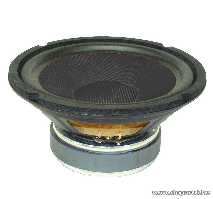 SAL SBX 2030/BK Mélysugárzó, 200 mm, 8 Ohm, kevlar 120 / 80 W