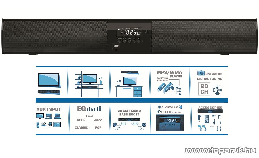 SAL SB X810 3D hangprojektor (81 cm széles) - megszűnt termék: 2014. október