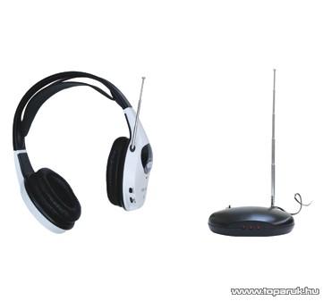 SAL VNF 30 Vezeték nélküli fejhallgató, fekete-fehér - megszűnt termék: 2015. január