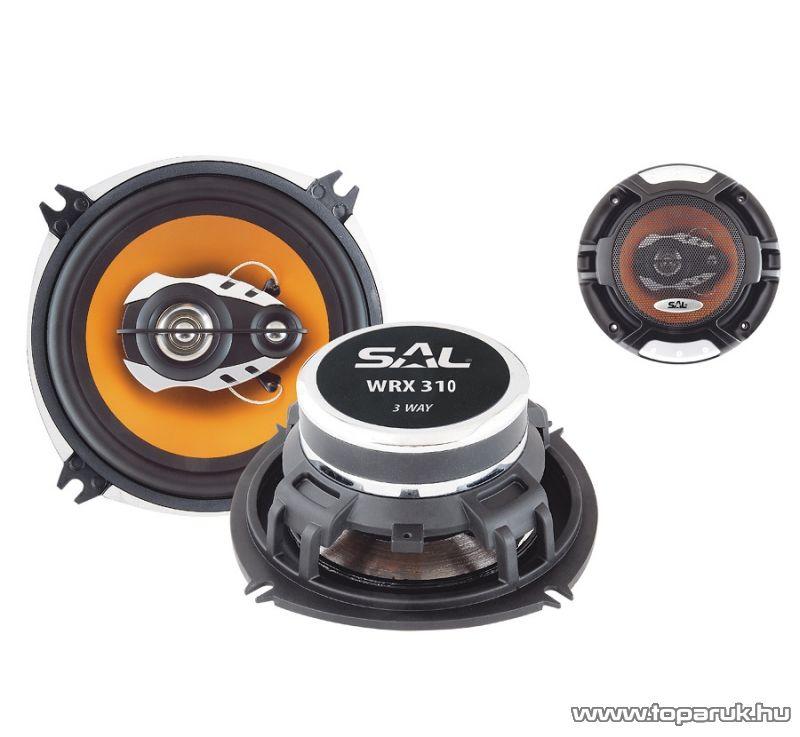 SAL WRX 310 Autóhangszóró-pár, 3utas, 4 Ohm, 100 mm, 140W-os