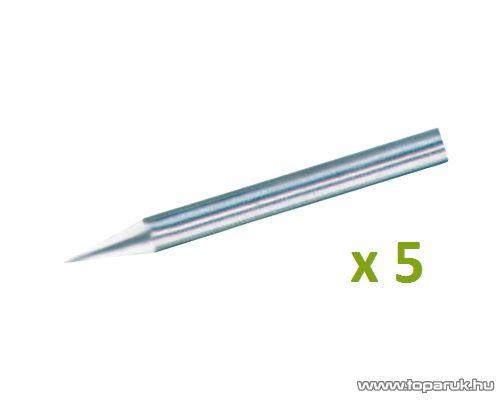 SMA FPH 6 Egyenes hegy forrasztópákához, 6 mm, 5 db / csomag
