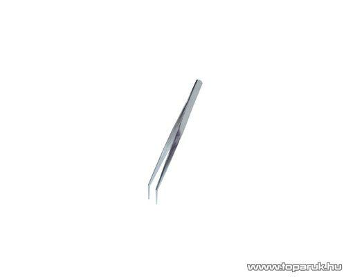 SMA MCS 106B 30 fokban hajlított csipesz, 150 mm