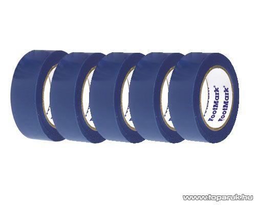 SMA SS 320 Szigetelőszalag, 20 m, kék, 5 tekercs / csomag
