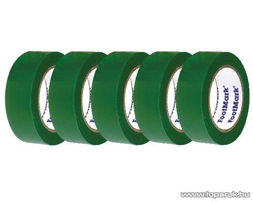SMA SS 410 Szigetelőszalag, 10 m, zöld, 5 tekercs / csomag