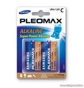 Samsung PLEOMAX LR14 Baby (C) elem, alkaline, 2 db / csomag - megszűnt termék: 2015. szeptember