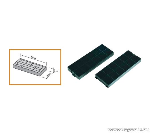 Technowind AC 25 Aktív szénszűrő, 2 db