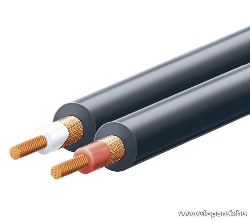 USE KN 6 - 2 eres árnyékolt audio vezeték, 100 m / tekercs