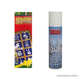 USE MO 430524 Hóspray (műhó spray) 8 féle sablonnal, 150 ml
