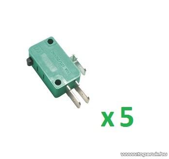 USE MSW 01 Mikrokapcsoló, 1 áramkör - váltó - ON - (ON), 250 V, 5 db / csomag