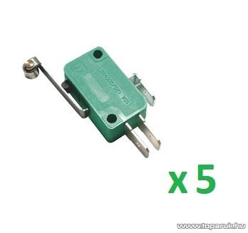 USE MSW 03 Mikrokapcsoló, 1 áramkör - váltó - ON - (ON), 250 V, 5 db / csomag