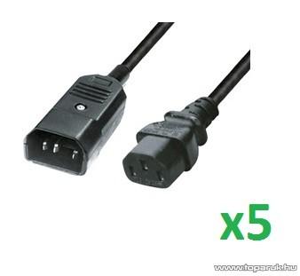USE N 51 Hálózati csatlakozó, 2 m hosszú, 5 db / csomag
