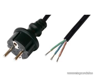 USE N 9-5/1,0 Szerelhető hálózati csatlakozókábel, 5 m