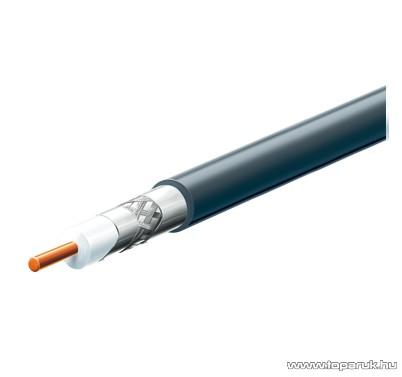 USE S 6TSP/BK Kültéri koax kábel, fekete, 100 m hosszú - megszűnt termék: 2015. május
