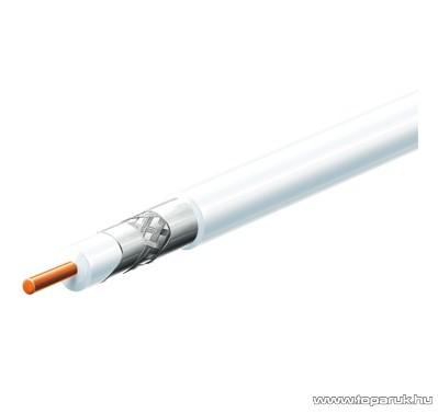 USE S 6TSP/WH Kültéri koax kábel, fehér, 100 m hosszú