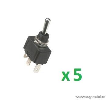 USE ST 21 Billenőkapcsoló, 1 áramkör - 2 állás, 250 V, 5 db / csomag