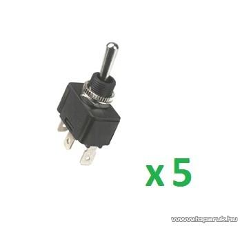 USE ST 22 Billenőkapcsoló, 1 áramkör - 3 állás, 250 V, 5 db / csomag