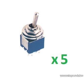 USE ST 304 Billenőkapcsoló, 2 áramkör - 2 állás, 250 V, 5 db / csomag