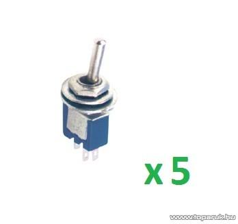 USE ST 315 Billenőkapcsoló, 1 áramkör - 2 állás, 250 V, 5 db / csomag