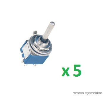 USE ST 316 Billenőkapcsoló, 2 áramkör - 2 állás, 250 V, 5 db / csomag