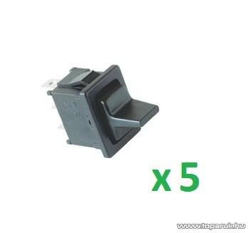 USE ST 3/BK Billenőkapcsoló, 1 áramkör - 3 állás, 250 V, 5 db / csomag