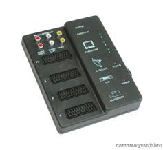 USE V 53A Audió videó kontroller, automatikus átkapcsolás
