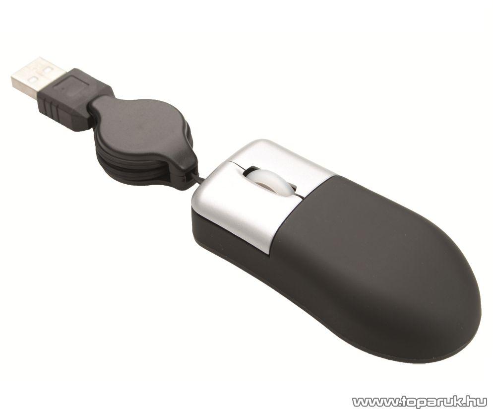 WELT 791403-10 Mini optikai egér, USB 2.0