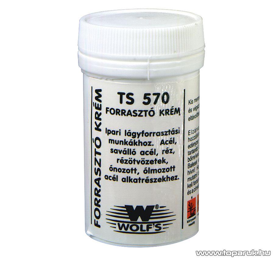 Wolf's TS 570 Forrasztó krém , 50 cm3