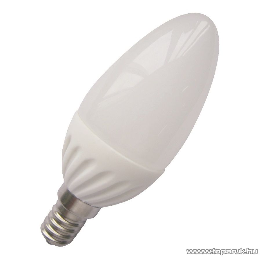 GAO 8166H LED fényforrás, energiatakarékos izzó, 4W, E14 foglalatba, 3000K meleg fehér fényű világítás