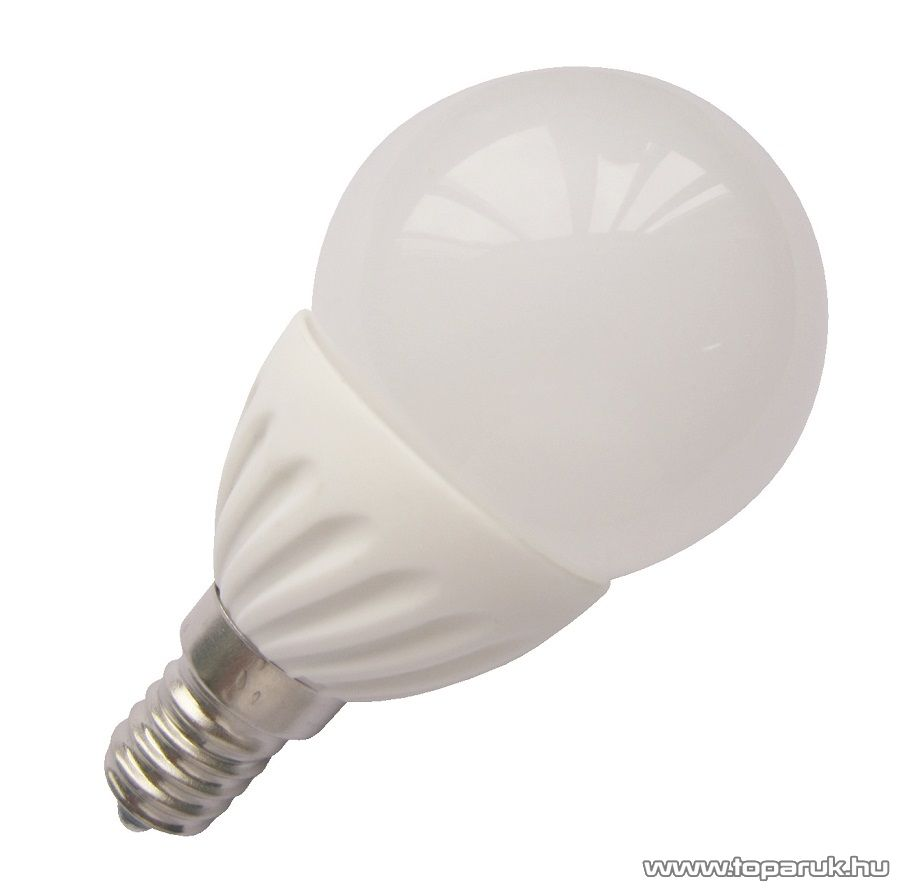 GAO 8167H LED fényforrás, energiatakarékos izzó, 5W, E14 foglalatba, 3000K meleg fehér fényű világítás