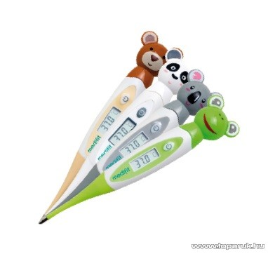 medifit MD-536 Gyermekfigurás flexibilis digitális lázmérő