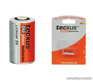 tecxus CR 2 - 3V fotó elem, litium