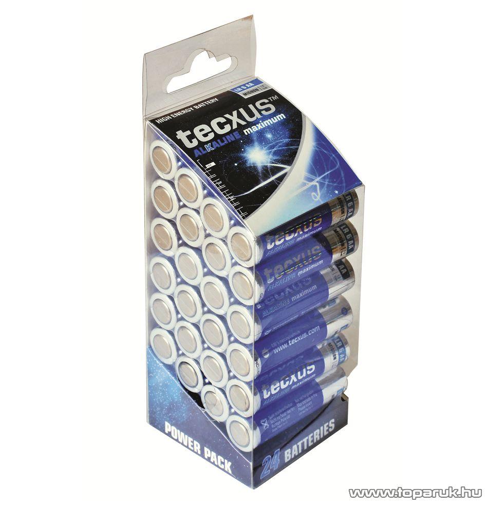 tecxus TC LR6/6 Ceruza elem (AA), alkáli, 24 db-os XXL-pack