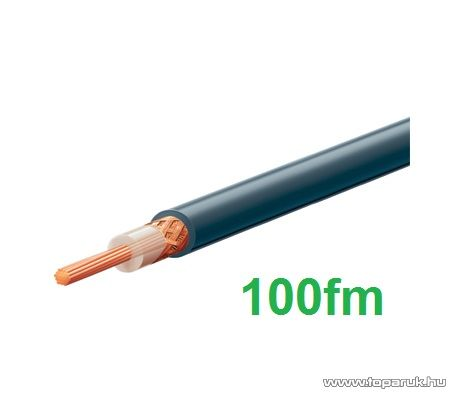 USE RG 58 Koax kábel, 50 ohm, fekete, 100 m/tekercs