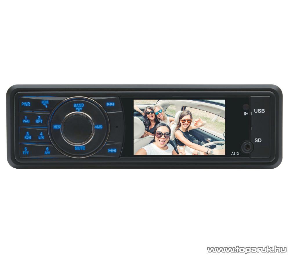 """SAL voXbox VB X100 Autórádió és zenelejátszó, fejegység multifunkciós 3,0""""-os LCD kijelzővel"""