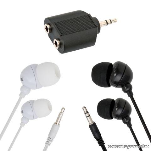 Maxell Fülhallgató szett 20 - 20 000 Hz, 1 pár fehér és 1 pár fekete (52027)