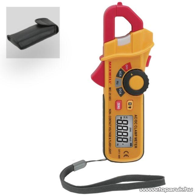 Maxwell MC-25 603 Digitális lakatfogó érintkezés nélküli áram detektálással (25603)