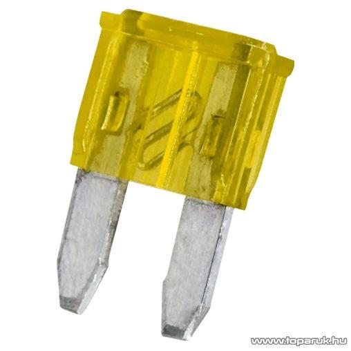 neXus Mini késes biztosíték, 11x8,6 mm, 20A, 25 db / csomag (05366)