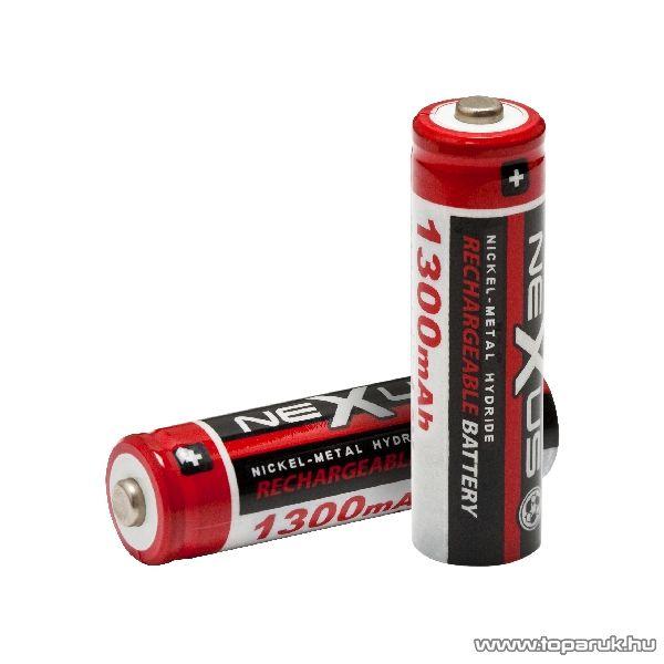neXus Ceruza akkumulátor, AA, HR06, Ni-MH, 1,2V, 1300 mAh, 2 db / csomag (18501) - megszűnt termék: 2014. november