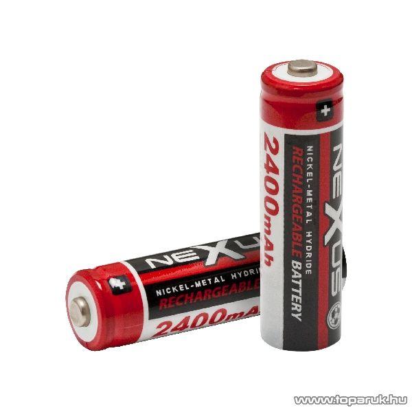 neXus Ceruza akkumulátor, AA, HR06, Ni-MH, 1,2 V, 2400 mAh, 2 db / csomag (18504)