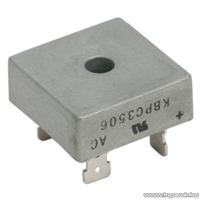 Graetz, KBPC, 3506, 35A, 600V (08110)