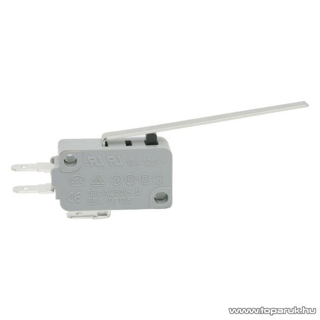 Mikrokapcsoló, 1 áramkör, 16(4)A-250V, ON-(ON), 5 db / csomag (09012)